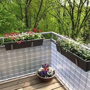 Sichtschutzzaun PVC Kunststoff Montageset Sunline