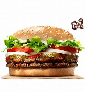 Double WHOPPER® Sandwich   BURGER KING®