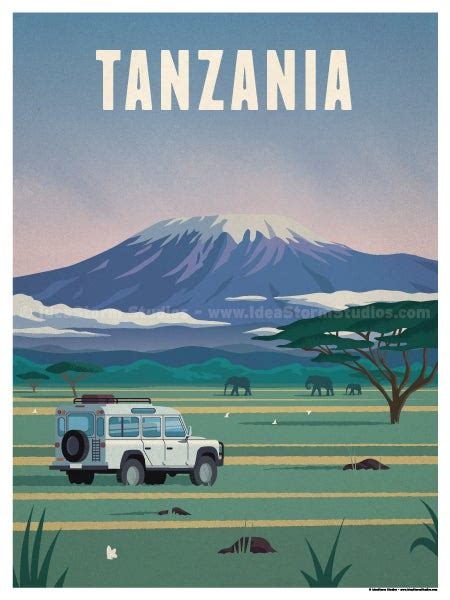 ideastorm studio store tanzania poster
