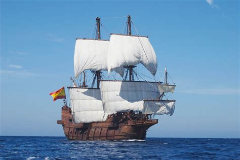 What S Boat In Spanish by Galleon Sailing Ship Drawing Foto Bugil 2017