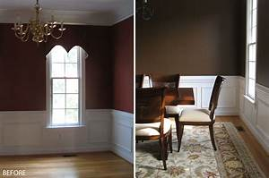 The dining room wall painting ideas above is used allow for Living room dining room paint colors