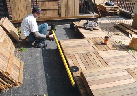 replacing  rooftop deck images   jlc