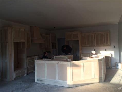 pendant lighting   large angled kitchen island