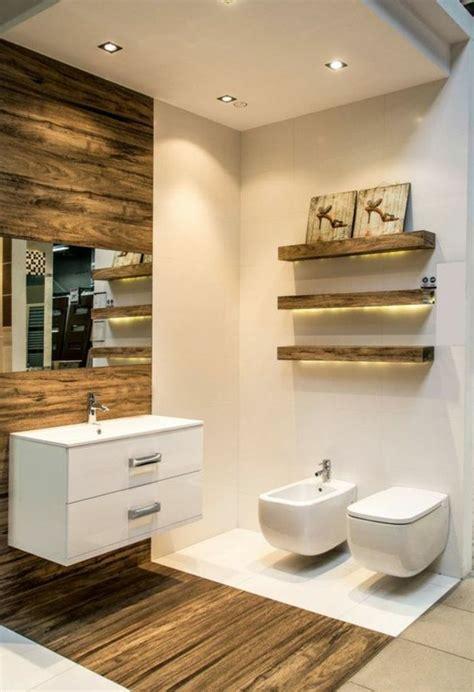 spot salle de bain spot encastrable salle de bain en beige carrelage et bois