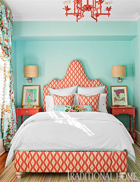 15 Rooms Big Bold Color by 15 Rooms With Big Bold Color Traditional Home