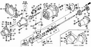 Honda Aquatrax Part  91253