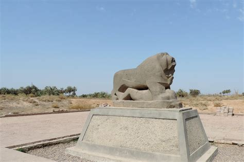The Lion Of Babylon World Monuments Fund