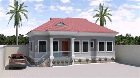 exquisite  bedroom bungalow house designs  nigeria youtube  bedroom flat plan view