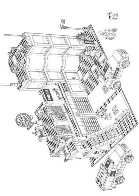 malvorlagen lego city bilder zum ausmalen kinder basteln