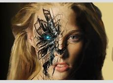 Cyborg Fantasy & Abstract Background Wallpapers on