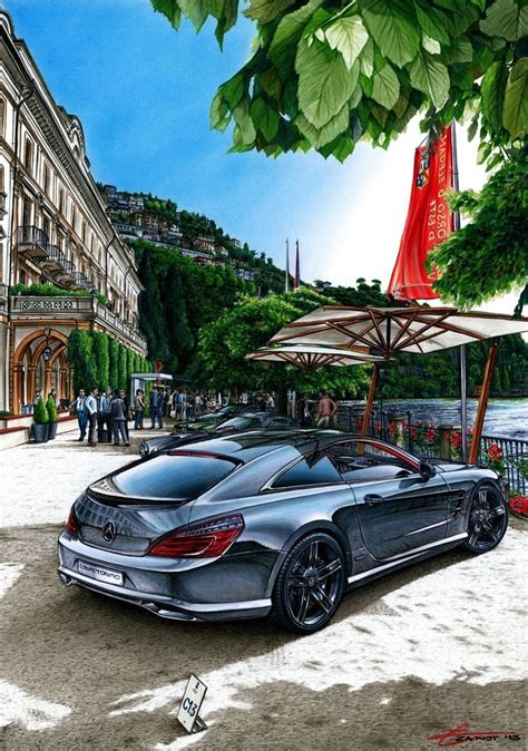 Design Students Turn Mercedes Benz Sl Into Stylish