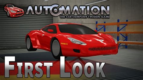automation  car company tycoon game   ger