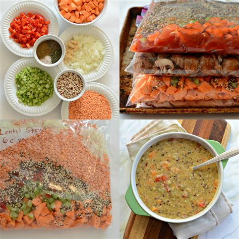 meals healthy freezer prep cooking quick cooker slow recipes needed chicken mushroom barley stew
