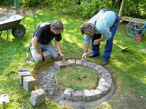 feuerstelle garten selber bauen nowaday garden With feuerstelle garten mit bonsai dünger obi