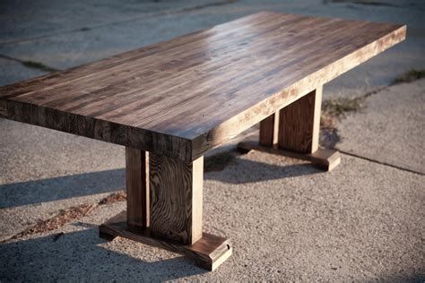 solid wood farmhouse table butcher block table solid wood farmhouse dining table