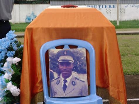 bureau de recrutement gendarmerie agban hommage de la gendarmerie nationale au lieutenant