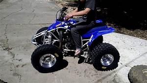 02 Yamaha Blaster  Holeshot Tires Douglas Rims