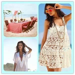 What to Wear to the Beach Partyu2014-Beach Outfit DIY Ideas   We Heart It   beach dress beach ...