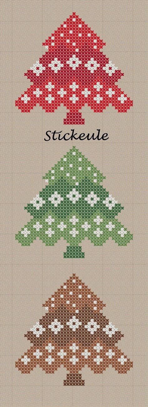 die besten  weihnachten kreuzstich ideen auf pinterest