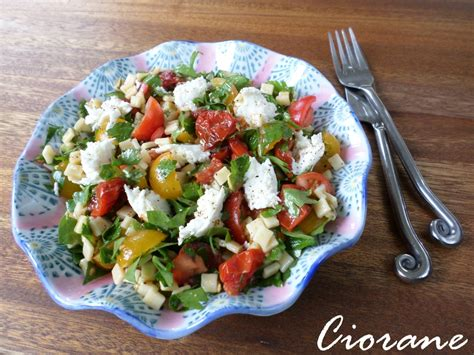 salade de crozets libano italienne la cuisine de quat sous