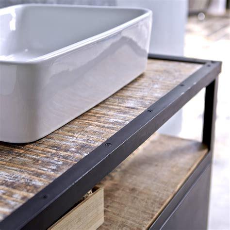chaise de bureau prix meuble sous vasque en mtal noir et manguier pour salle de