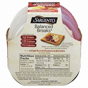 Sargento Muenster Cheese Nutrition Facts - Nutrition Ftempo