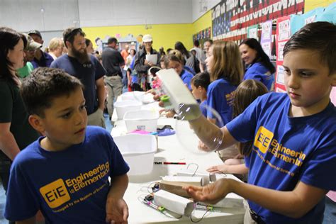 citgo provides elementary schools with student engineering