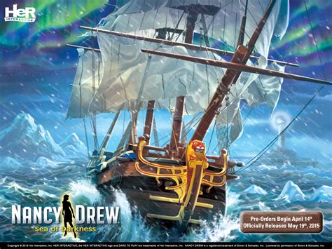 nancy drew mystery game sea  darkness  interactive