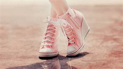Girly Shoes Background Wallpapers Pink Converse Heels