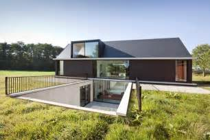 modern style house plans modern barn style home showcases glazings and below grade