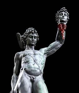 Perseus Beheading Medusa Photograph by Dave Martin
