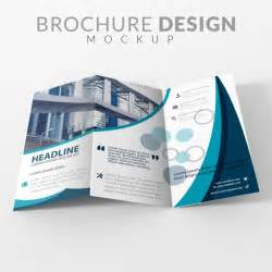 design brochure brochure mock up design psd file free