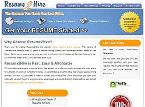 resume2hire review
