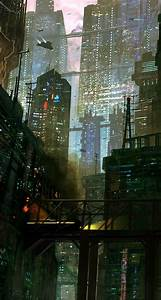 Sci Fi City Scene - The iPhone Wallpapers