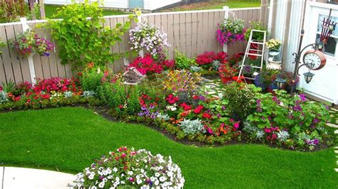 Unique Small Flower Garden Ideas