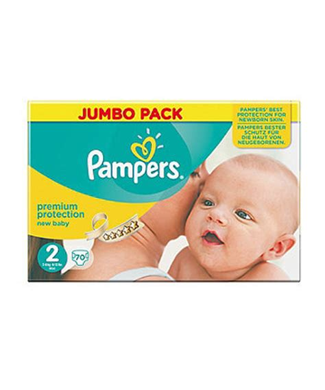 pers new baby size 2 mini nappies 3 6kg 6 13lbs 68 pack disposable nappies mothercare