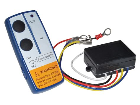 britpart wireless winch remote 12v 4x4 db1308 brp