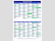 Calendrier 2020 Excel Calendrier 2019 Pdf icredodigitalcom