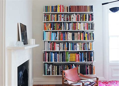 Wall-mounted Book Shelves