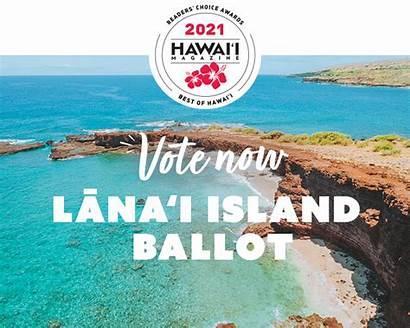 Choice Awards Readers Lanai Hawaii Magazine Hawaiimagazine