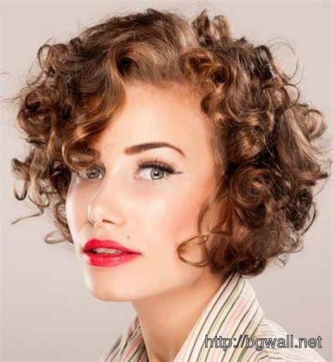 cute hairstyle ideas   short curly hair
