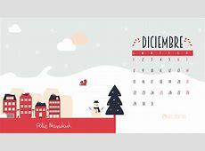 Calendario descargable Diciembre • Silo Creativo