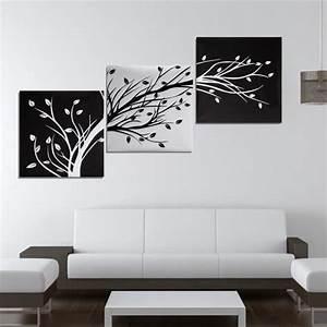 Toile Deco Salon : tableau deco noir et blanc salon achat vente pas cher ~ Teatrodelosmanantiales.com Idées de Décoration