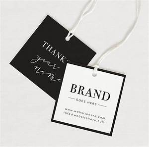thank you tag product thank you custom hang tag custom With brand tags for clothing
