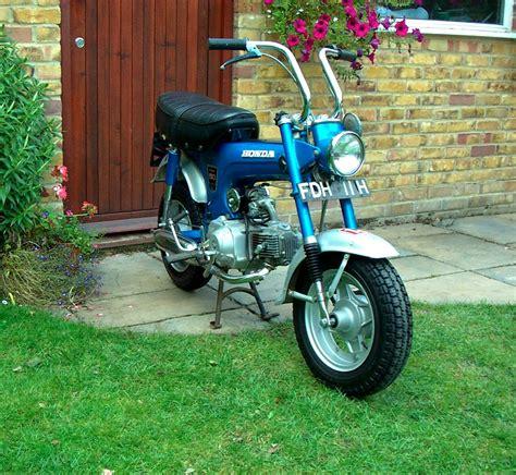 Classic Honda Monkey by Classic Moped Spares Honda Monkey Bike Just Advertised