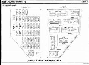 2005 Kia Sedona Fuse Box Diagram Html