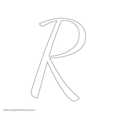 free letter stencils 1950s casual cursive alphabet stencils 22179