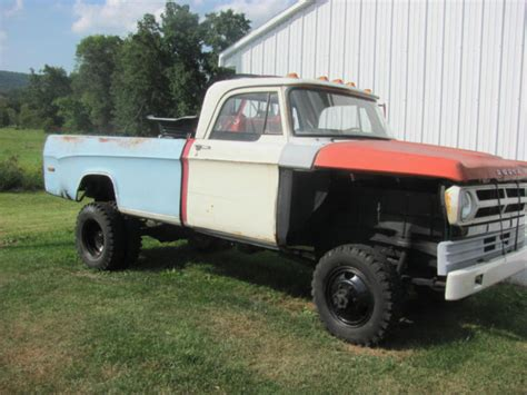 1967 Dodge Power Wagon by 1967 Dodge W300 Power Wagon For Sale Photos Technical