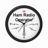 Amateur ham radio dx earth clock