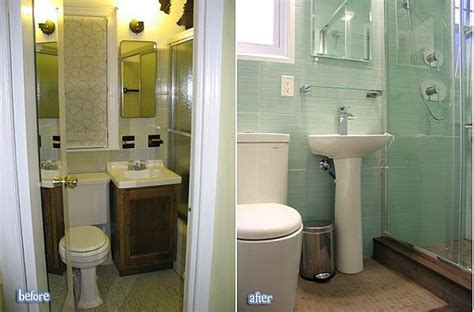 bathroom renovations ideas for small bathrooms amazing before and after bathroom renovations